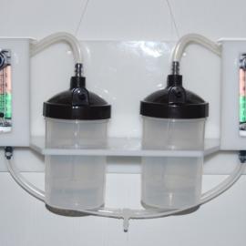 Выносной блок для кислородной терапии двух пациентов